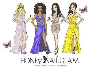 Honey Nail Glam