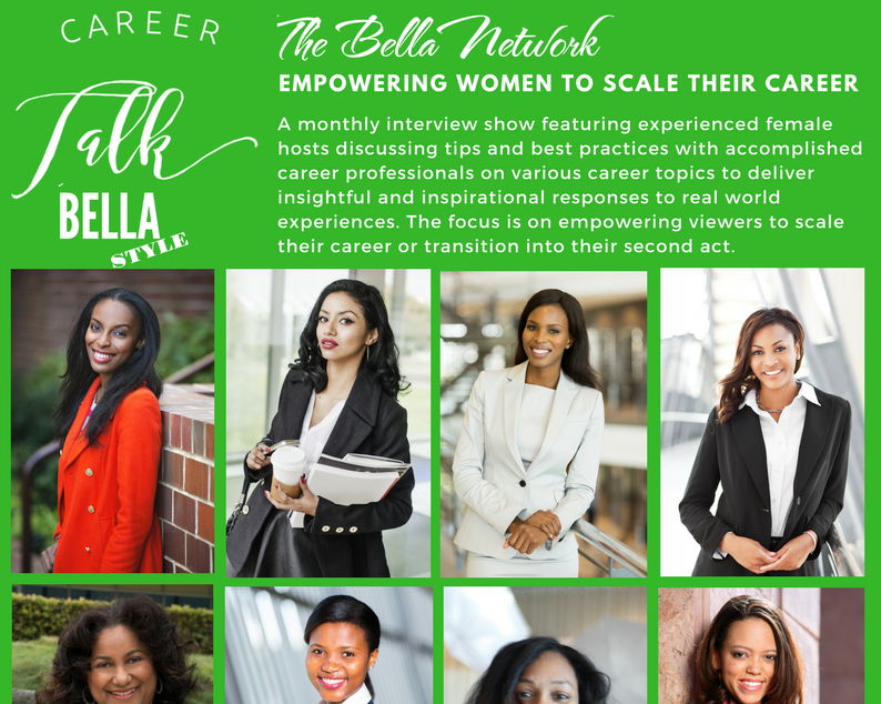Career Talk Bella Style – Meet the Host