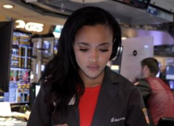 The only full-time woman trader at the NYSE