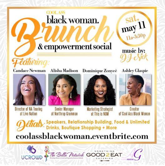 Cool Ass Black Woman Brunch