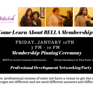 Come Learn About Bella Membership at our 2020 Pinning Ceremony & Wine Party
